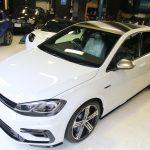 超ど新車な、VW GOLF R 7.5にいろいろと!