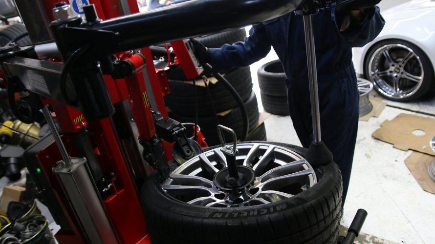 F30なお客様の、タイヤ交換!