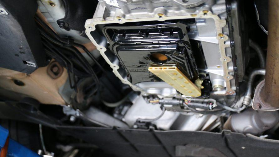 E89Z4なお客様のDCTフルード漏れ修理!