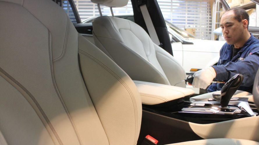 BMWの車内レザーが確実にこの1-2年でスペシャルになっている件、そして車内コーティングもやはり大事である件