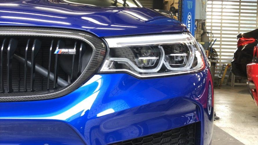 あの美麗M5にフロント&リアバンパープロテクション&ビキニカットプロテクション!